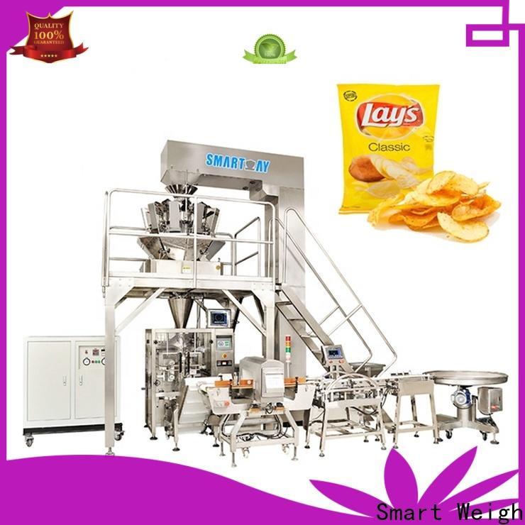 Smart Weigh vffs packaging machine company for chips packing