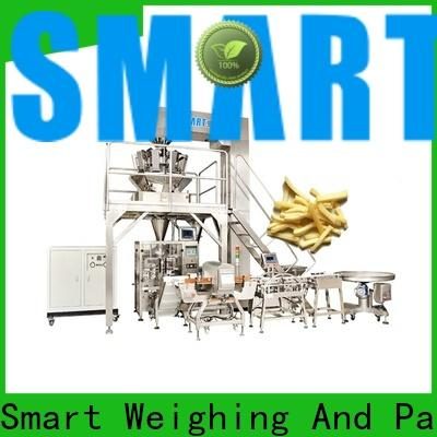 Smart Weigh pack highranking automatic vertical packing machine factory for salad packing