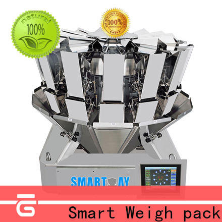 Smart Weigh pack twin multihead weigher machine factory price for foof handling