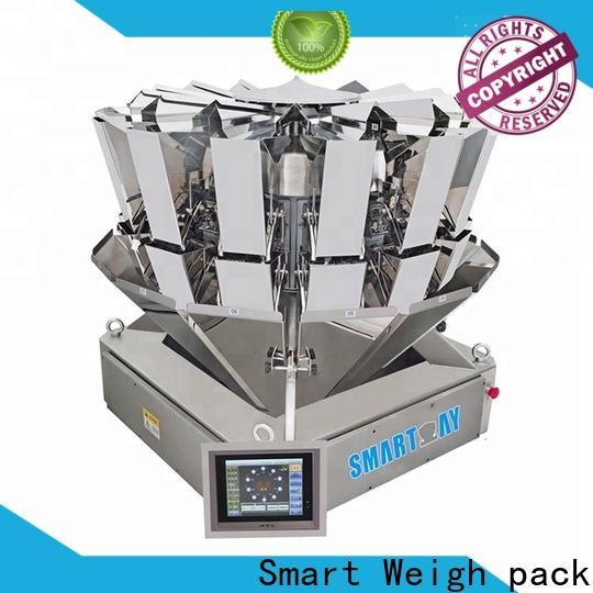 Smart Weigh pack packing multi head machine suppliers for food labeling