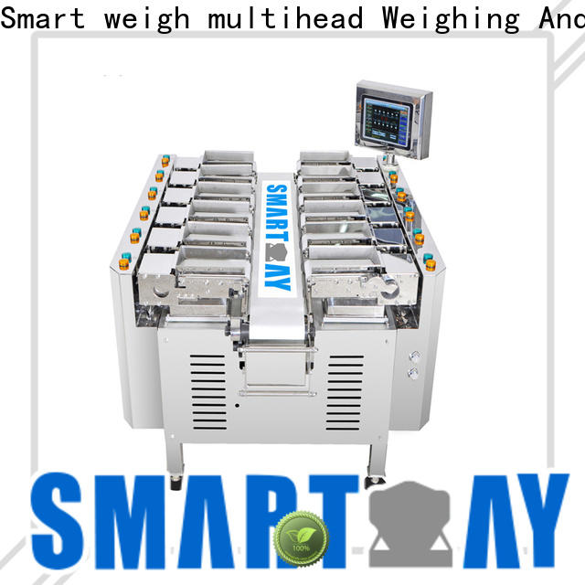 Smart Weigh pack steady channel linear weigher from China for food weighing
