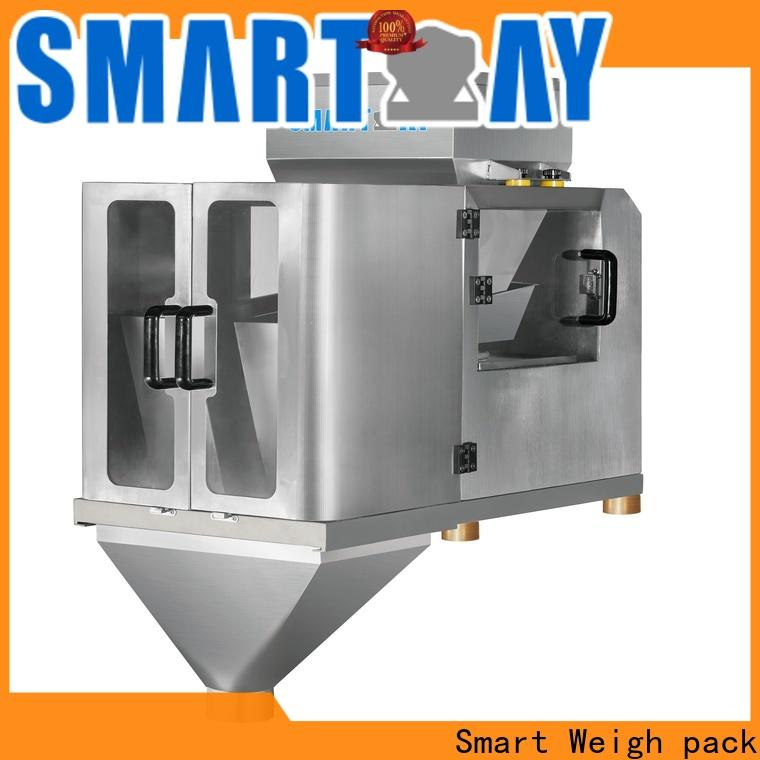 Smart Weigh pack steady weighing machine model manufacturers for foof handling