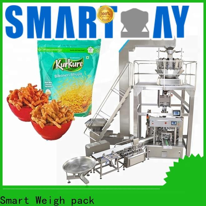 Smart Weigh pack plantain automatic pouch packing machine company for foof handling