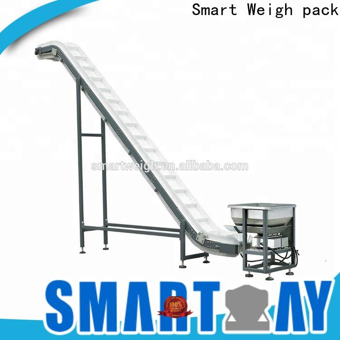 Smart Weigh pack incline bucket elevator conveyor free quote for foof handling