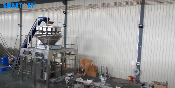frozen chicken automatic smartweighpack weighing packing system