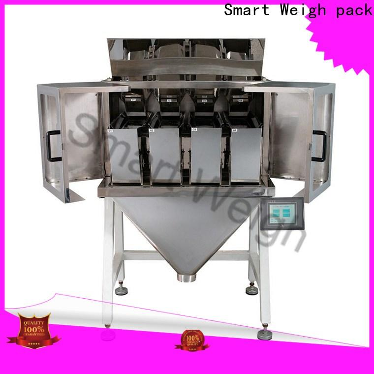 Smart Weigh pack electronic weighing and packaging machine supply for food weighing