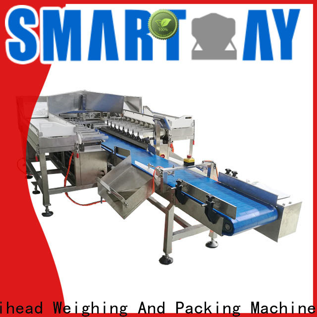 Smart Weigh pack weigh metal detector with good price for foof handling