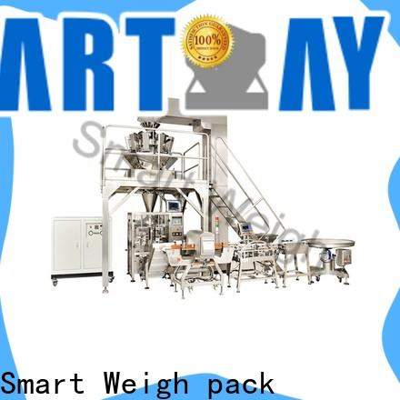 Smart Weigh pack rice pouch packing machine suppliers for salad packing