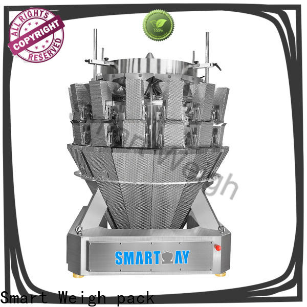 Smart Weigh pack multihead weigher packing machine for food weighing