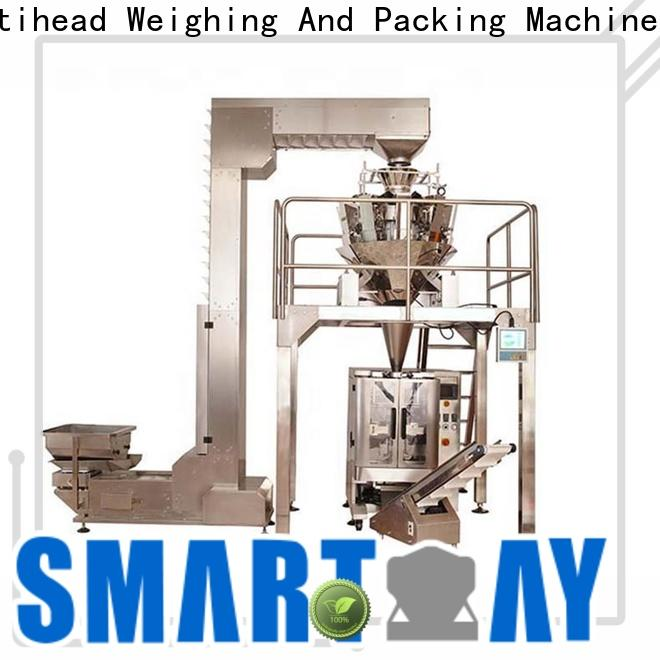 Smart Weigh pack chinas automatic packing factory for foof handling