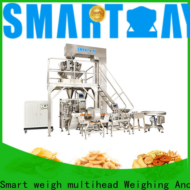 Smart Weigh pack products vffs packaging machine manufacturers for salad packing