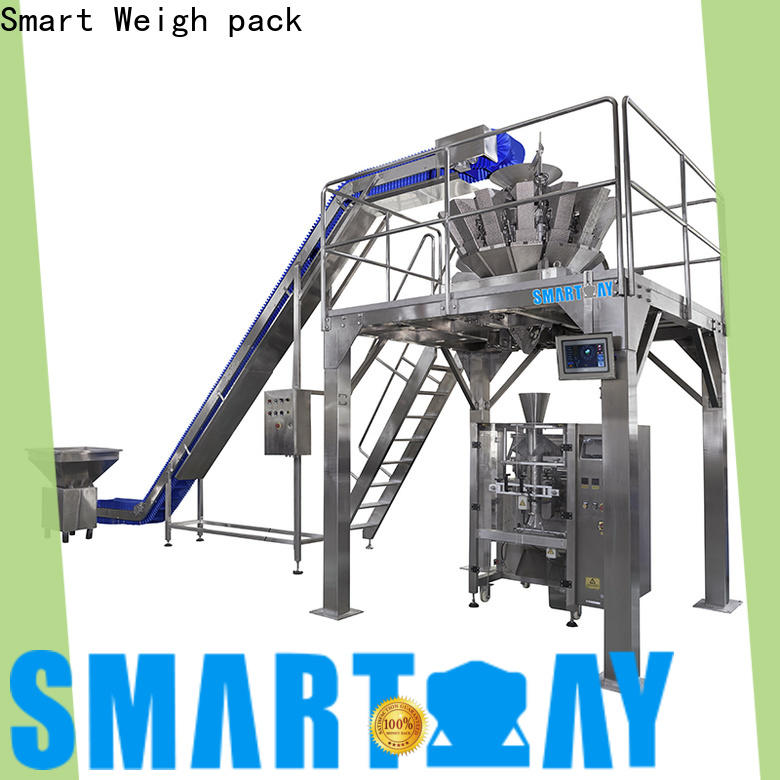 Smart Weigh pack latest vertical form fill and seal machines supply for salad packing