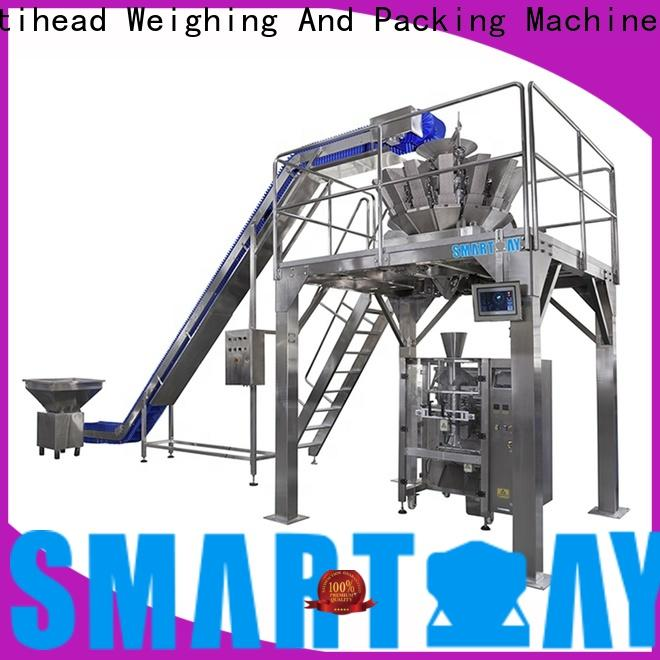 Smart Weigh pack salad spice packaging machine for business for foof handling