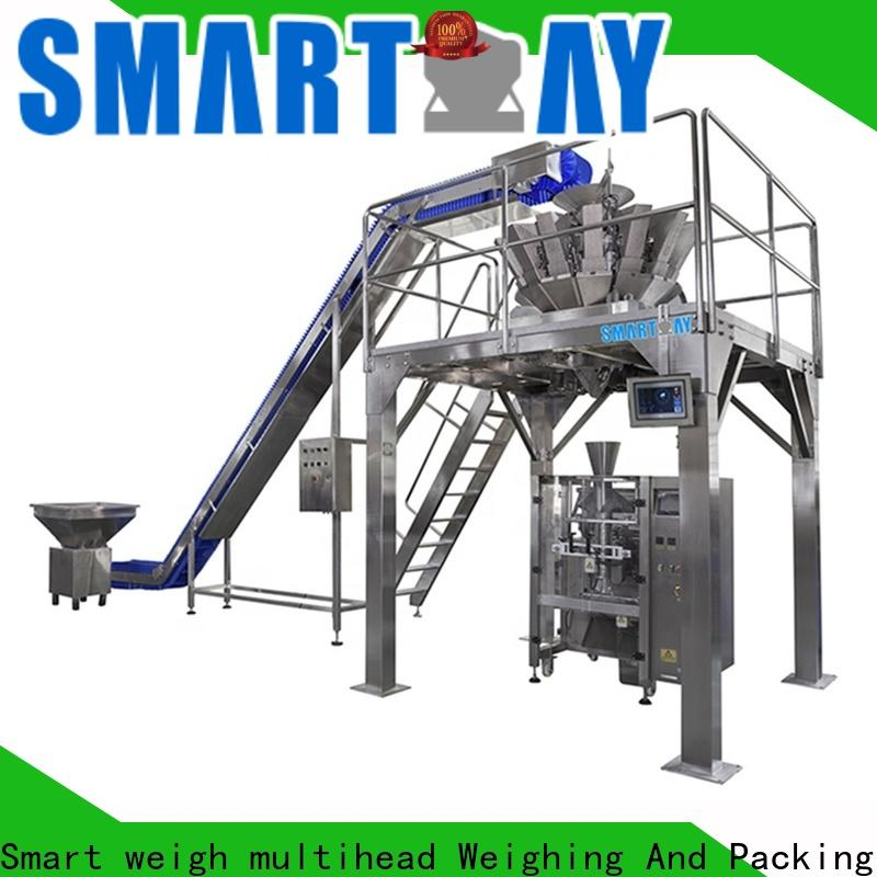 Smart Weigh pack advanced lays packing machine for food labeling