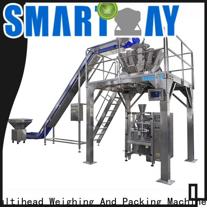 Smart Weigh pack quality bagging machine customization for food weighing