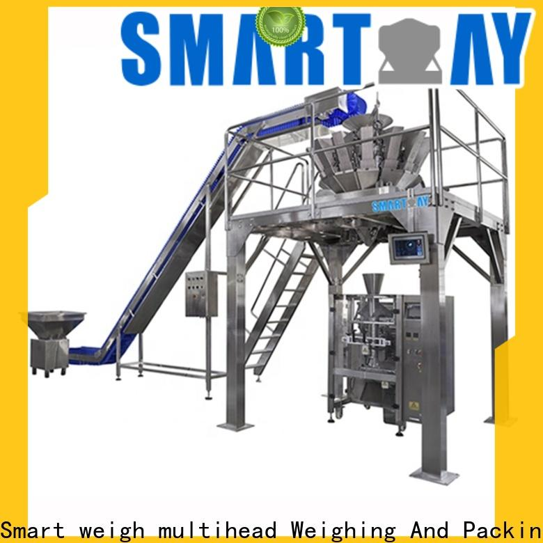 Smart Weigh pack seed pouch packing machine in india for foof handling
