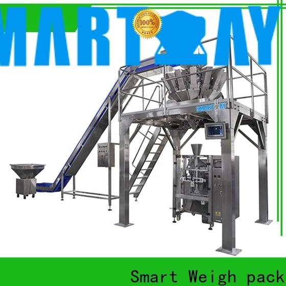 Smart Weigh pack cake rotary filling machine in bulk for food packing
