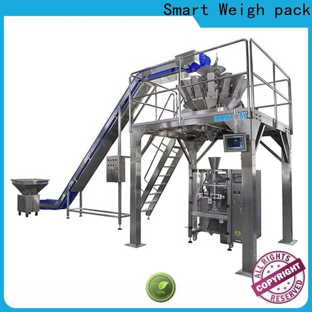 Smart Weigh pack automatic stick filling machine factory for food labeling