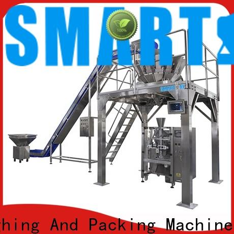 Smart Weigh pack walnut automatic bagging machine China manufacturer for food labeling
