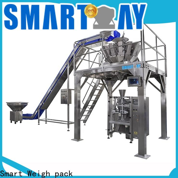Smart Weigh pack spinach volumetric filling machine with cheap price for foof handling