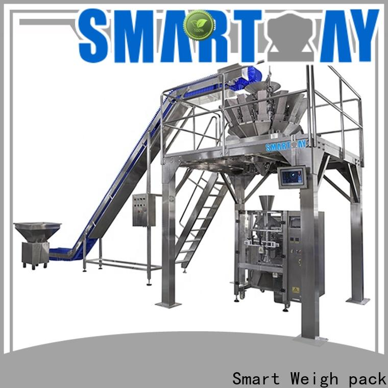 Smart Weigh pack inexpensive glass packing machine for food packing