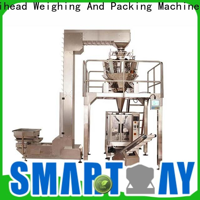 Smart Weigh pack cone patti packing machine free quote for food weighing