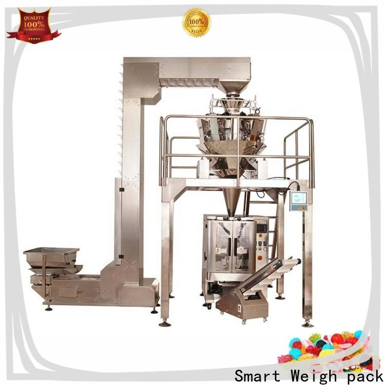 Smart Weigh pack packaging snacks pouch packing machine company for foof handling