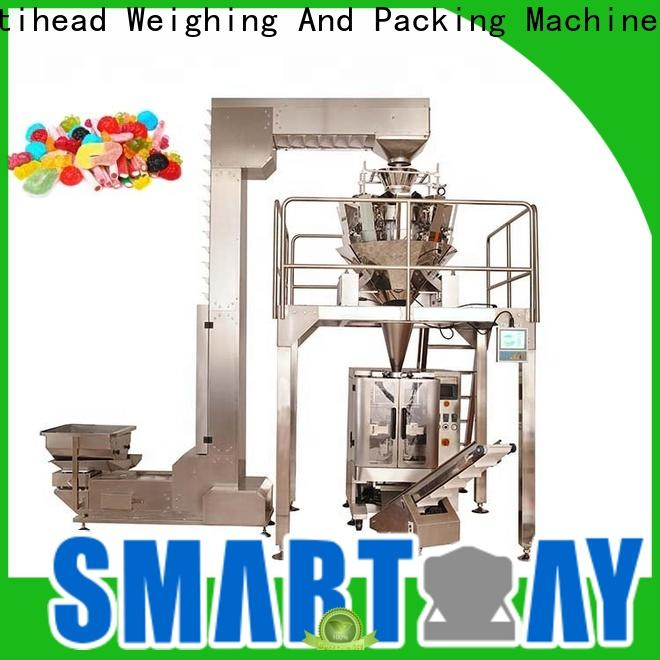 Smart Weigh pack bagging juice packing machine for food labeling