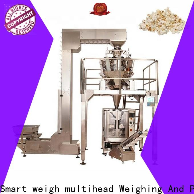 inexpensive spaghetti packaging machine kurkure with cheap price for food weighing