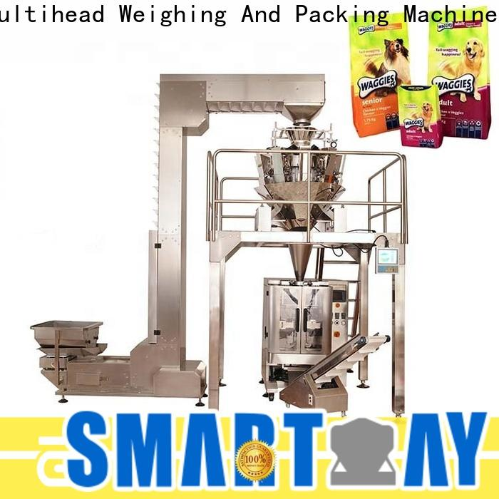 Smart Weigh pack crisp material packing machine factory price for food labeling