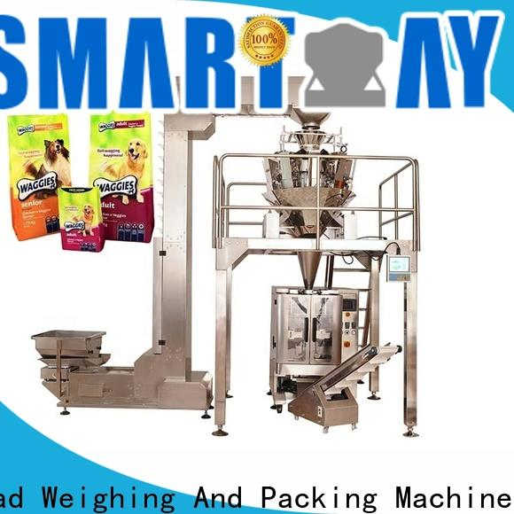 high-quality shampoo filling machine weigh China manufacturer for foof handling