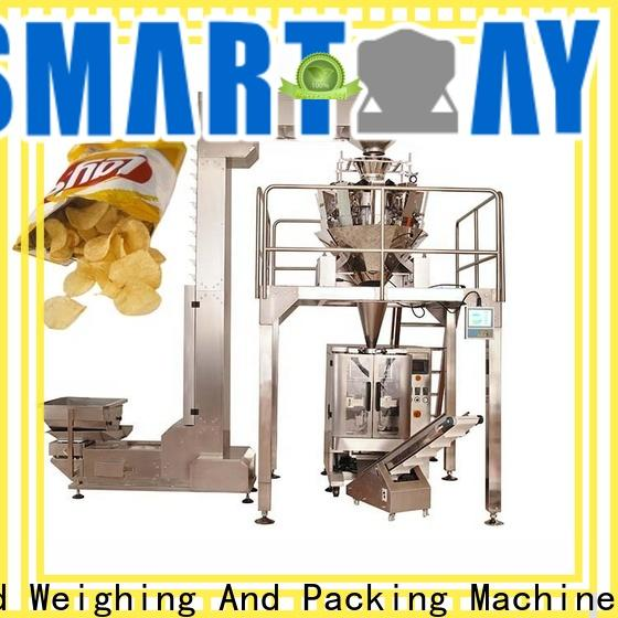 Smart Weigh pack best-selling automatic bag packing machine free quote for foof handling