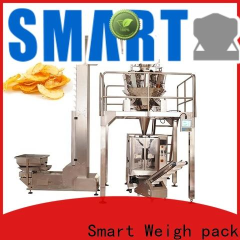 Smart Weigh pack seal grain packaging machine free quote for food weighing