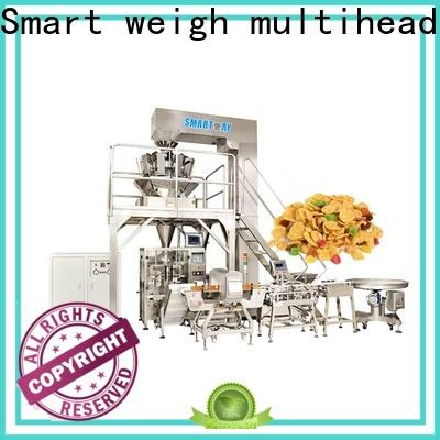 Smart Weigh pack puffed vertical packaging machine for food weighing