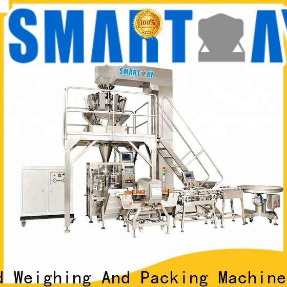 Smart Weigh pack vertical form fill machine company for food packing