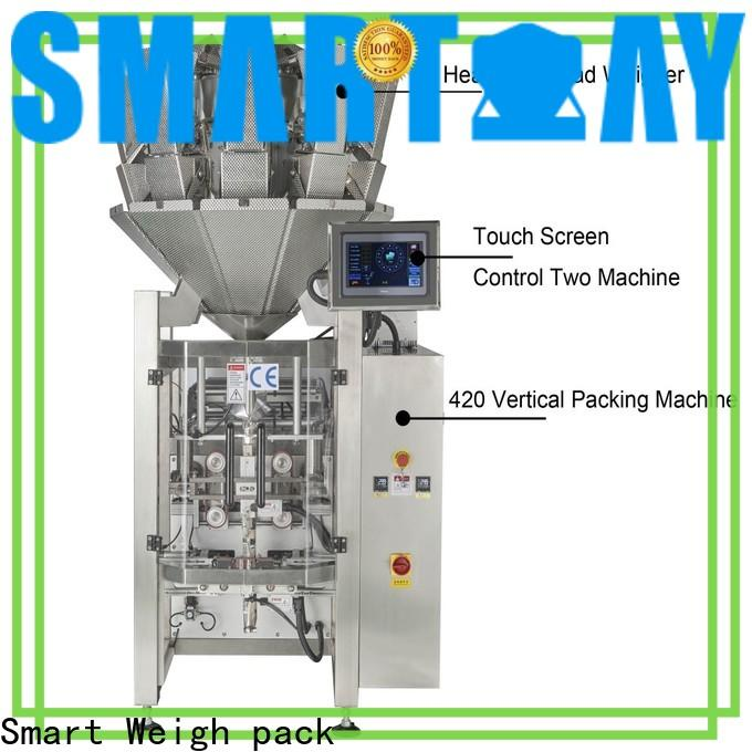 Smart Weigh pack quality vertical packing machine price supply for meat packing