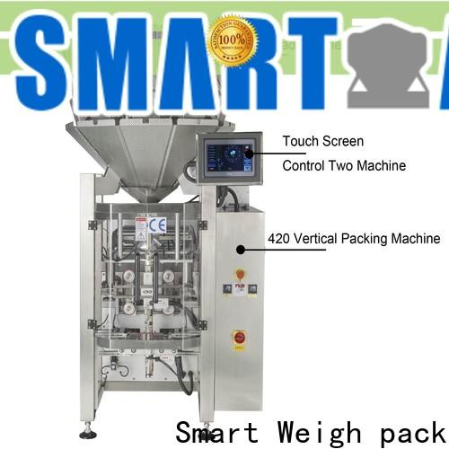 Smart Weigh pack best pouch packing machine manufacturers for salad packing
