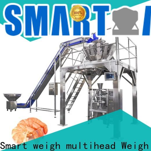 Smart Weigh pack vertical packaging machine supply for food weighing