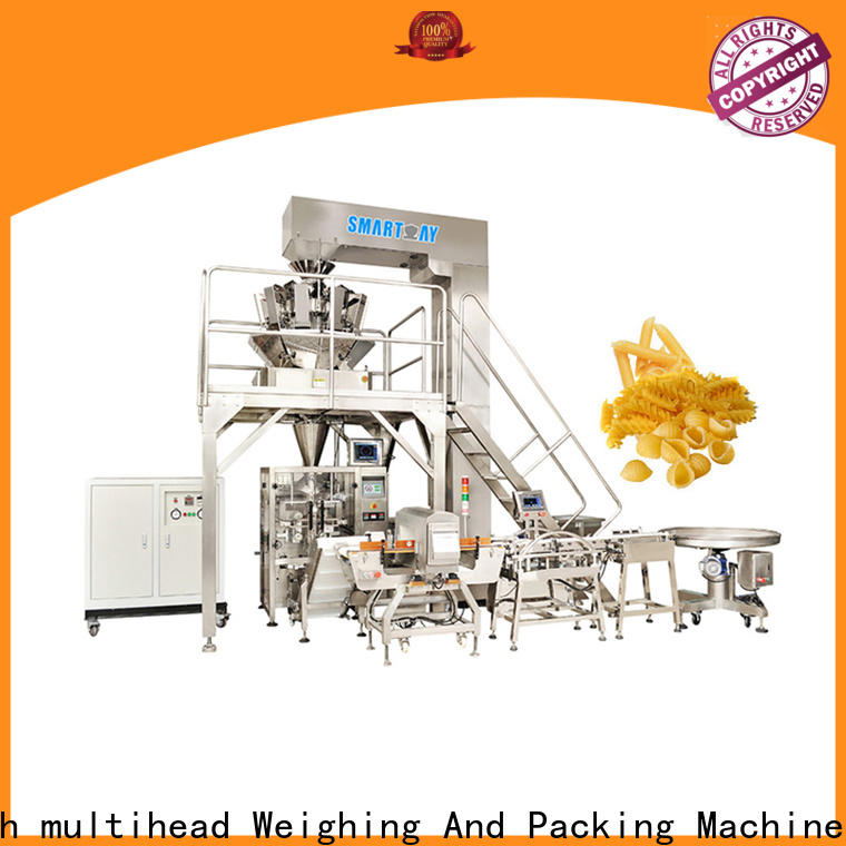pouch packing machine economic for food weighing