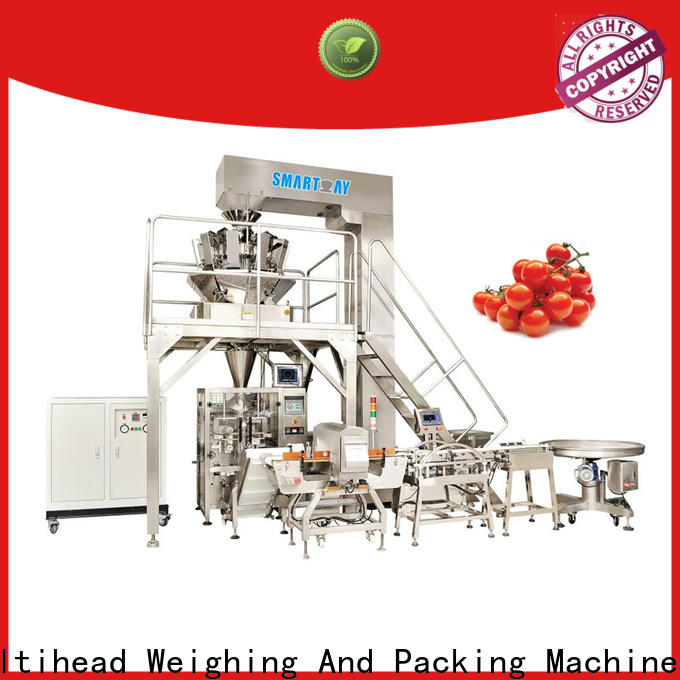Smart Weigh pack hazelnuts vertical packaging machine for chips packing
