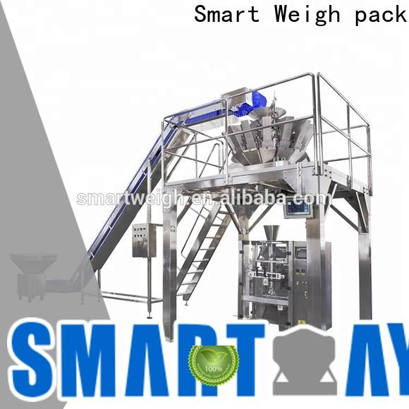 Smart Weigh pack automatic vertical vacuum packaging machine for food packing