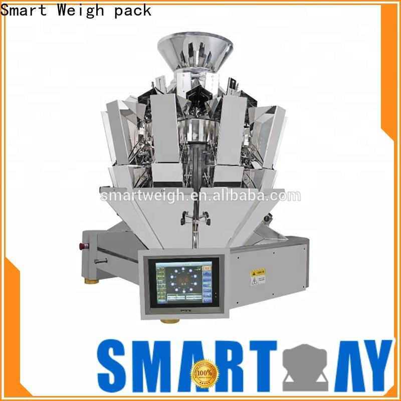 Smart Weigh pack latest vertical pouch packing machine for chips packing