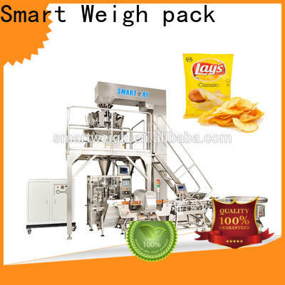 Smart Weigh pack quad automatic vertical packing machine supply for food packing
