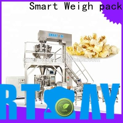 Smart Weigh pack salad vertical packing machine supply for food weighing