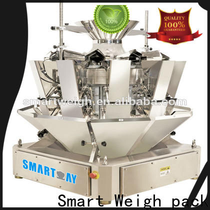 Smart Weigh pack precise multihead weigher supply for food labeling