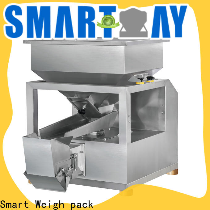 Smart Weigh pack 16l checkweigher bulk production for food labeling