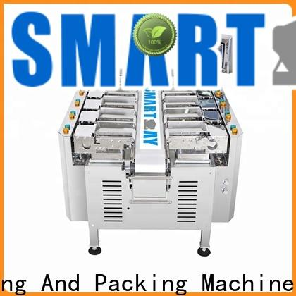 Smart Weigh pack adjustable weigher machine check now for food labeling