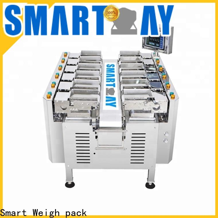 Smart Weigh pack kimchi multihead weigher factory price for food labeling