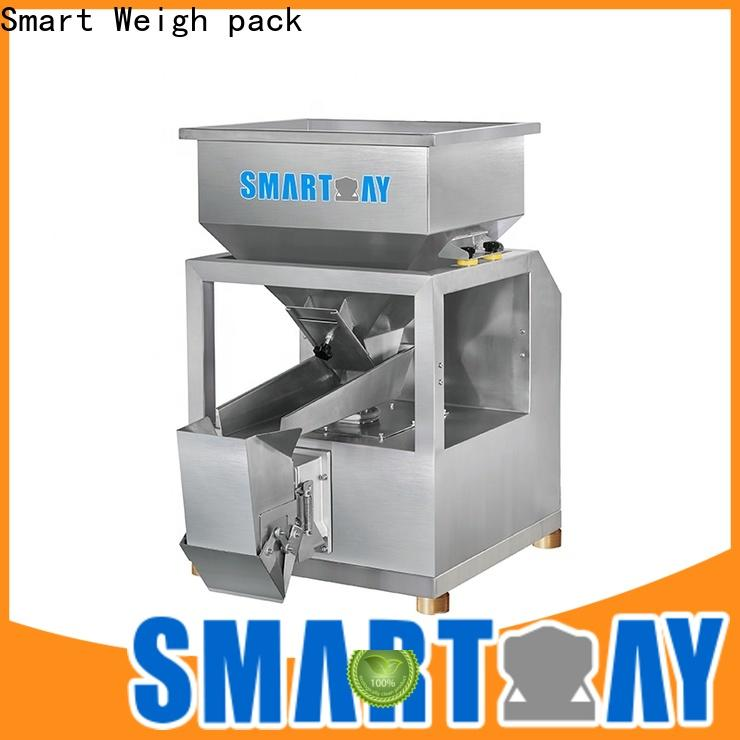 Smart Weigh pack two checkweigher manufacturers for food labeling