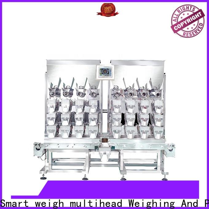 durable weigher machine granulebeangrainricenutsseeds for business for food labeling